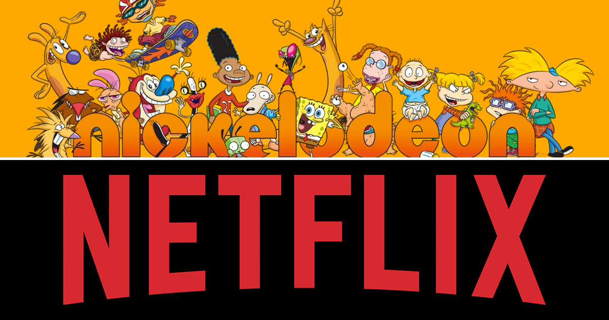 Netflix e Nickelodeon